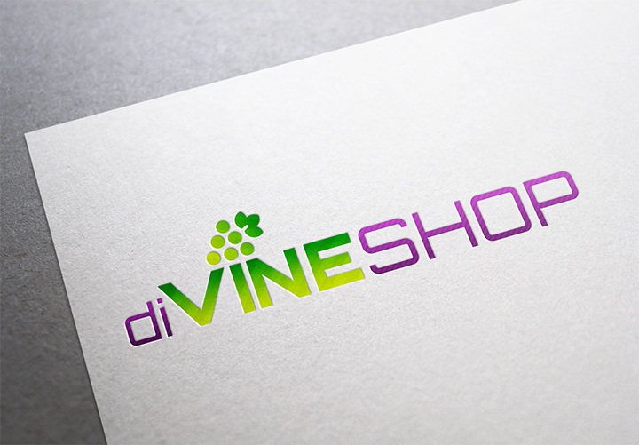 diVINESHOP Logo Design