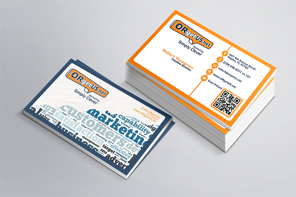 ORgetUS Business Card