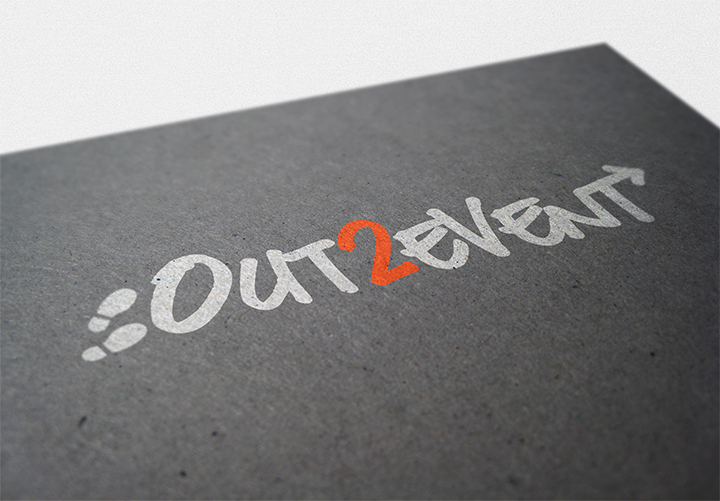 Out2Event Logo Design