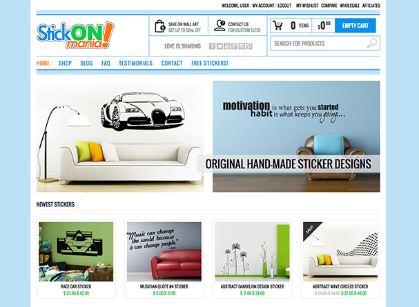 StickONmania Web Design