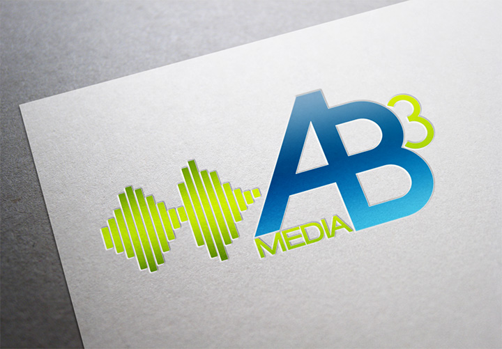 AB3 Media Logo Design